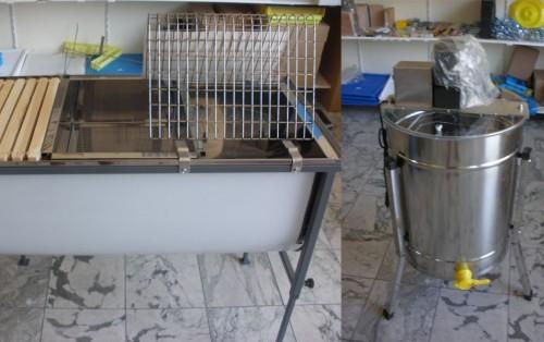 Μελιτοεξαγωγείς - Μηχανήματα